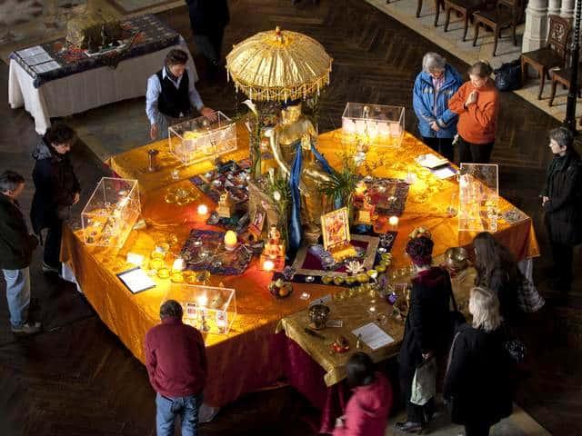 L'illuminazione buddhista a Portorose