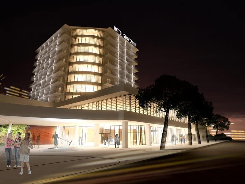 2016 di Investimenti per il LifeClass di Portorose: a Giugno l'Hotel Slovenja Diventa un 5* di Nuova Concezione