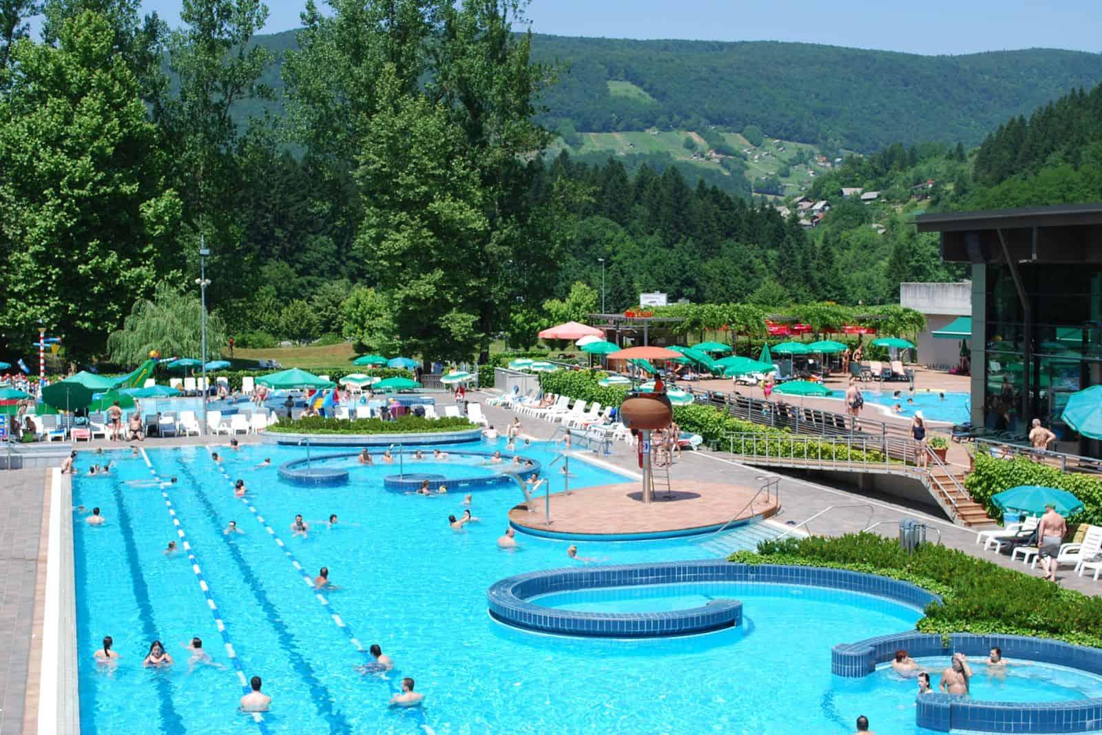 Estate relax benessere e sport alle Terme Krka